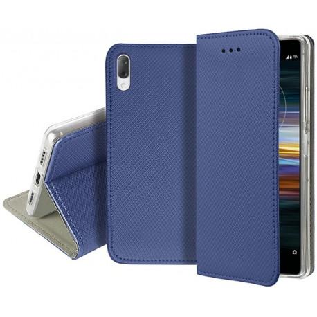 Magnet, Kaaned Sony Xperia L3, I3312, I3322, I4312, I4332, 2019 - Sinine