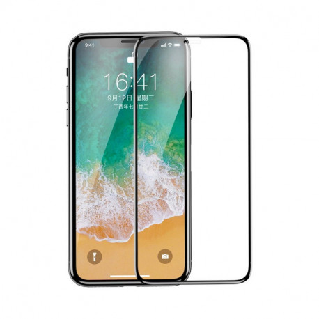 Baseus Soft PET Kaitseklaas 5D Apple iPhone 11 Pro, iPhone X, iPhone XS, 2017/2018/2019 - Must
