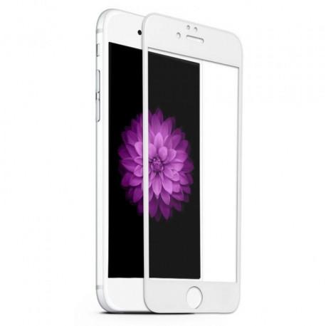 Kaitseklaas 5D, Apple iPhone 6, iPhone 6s, 2014/2015 - Valge