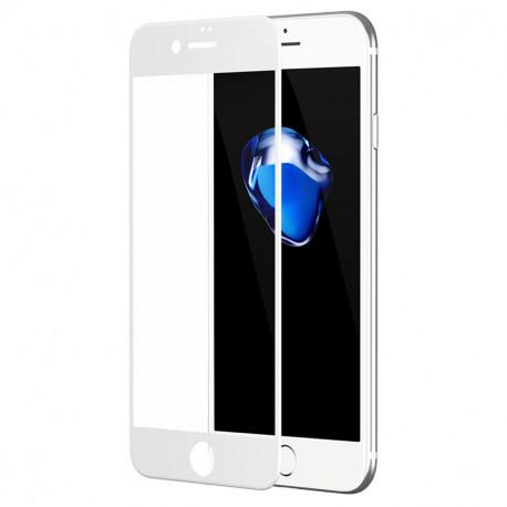 Kaitseklaas 5D, Apple iPhone 6 Plus, iPhone 6s Plus, 2014/2015 - Valge