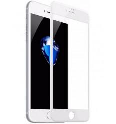 Kaitseklaas 5D, Apple iPhone 7, iPhone 8, 2016/2017 - Valge