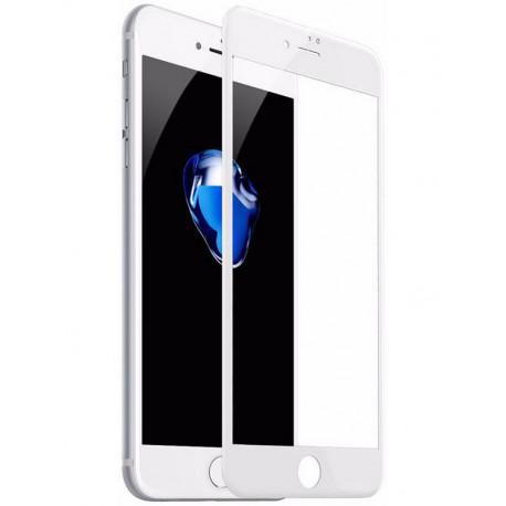 Kaitseklaas 5D, Apple iPhone 7, iPhone 8 2016/2017, iPhone SE 2020 - Valge