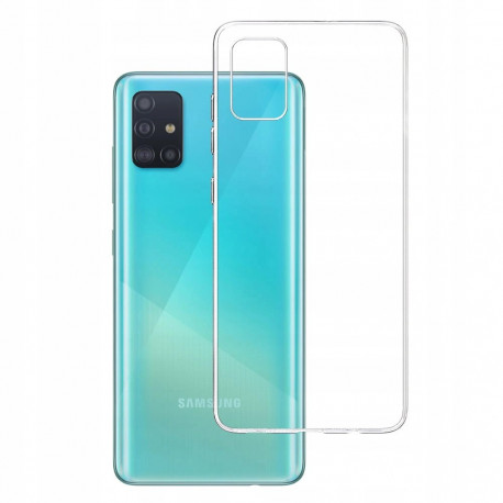 Clear, Ümbris Samsung Galaxy A51, A515, 2019 - Läbipaistev