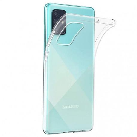 Clear, Ümbris Samsung Galaxy A71, A715, 2019 - Läbipaistev