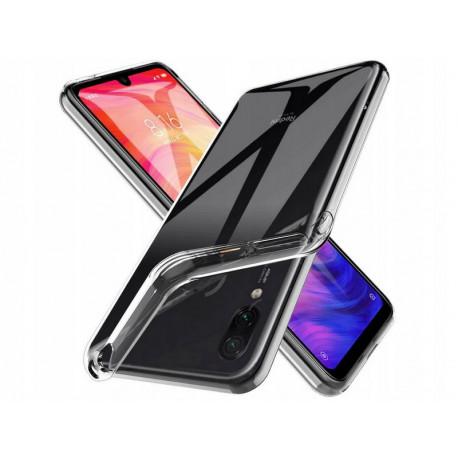Clear, Ümbris Xiaomi Redmi 7A, 2019 - Must