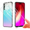Clear, Ümbris Xiaomi Redmi Note 8, 2019 - Must