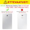 "Smart, Kaaned Samsung Galaxy Tab A 2018, 10.5"", T590, T595 - Must"