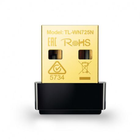 USB WiFi Adapter, TP-LINK TL-WN725N NANO, 2.4GHz, 802.11n, 150Mbps