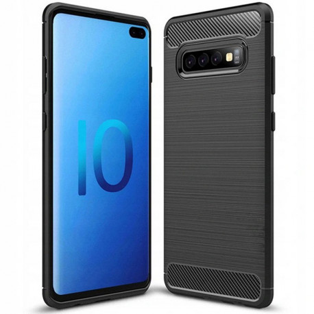 Carbon, Ümbris Samsung Galaxy S10, 6.1, G973, 2019 - Must