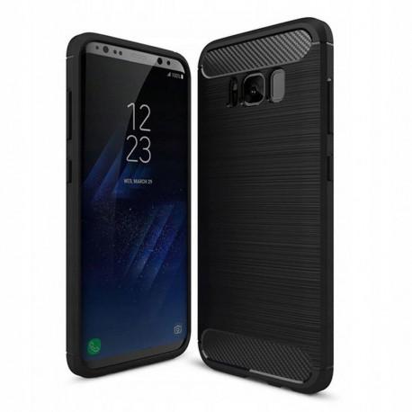 Carbon, Ümbris Samsung Galaxy S8, G950, G9500, 2017 - Must