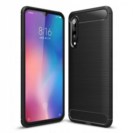 Carbon, Ümbris Xiaomi Mi 9, 2019 - Must
