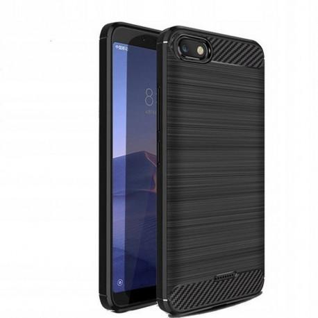 Carbon, Ümbris Xiaomi Redmi 6A, 2018 - Must