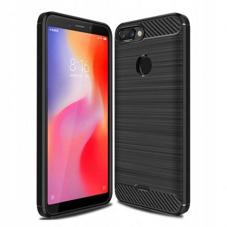 Carbon, Ümbris Xiaomi Redmi 6, 2018 - Must