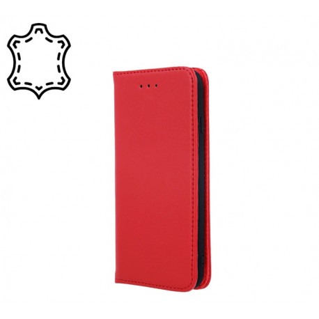 Leather, Nahkkaaned Samsung Galaxy A51, A515, 2019 - Punane
