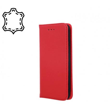 Leather, Nahkkaaned Samsung Galaxy A80, A805, 2019 - Punane