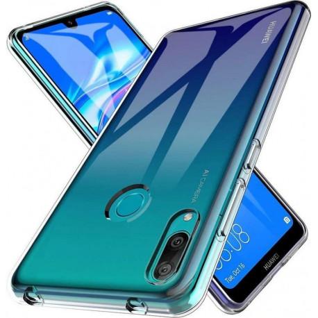 Clear, Ümbris Huawei Y7 2019 - Läbipaistev