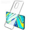 Clear, Ümbris Xiaomi Redmi Note 9, 2020 - Läbipaistev