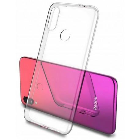 Clear, Ümbris Xiaomi Redmi 7, 2019 - Läbipaistev