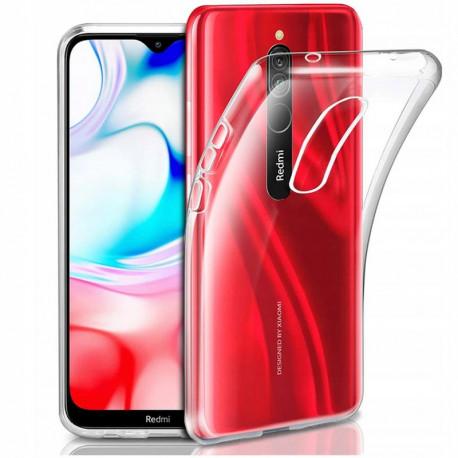 Clear, Ümbris Xiaomi Redmi 8, 2019 - Läbipaistev