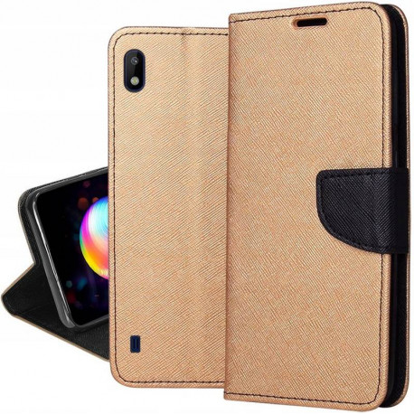 Fancy, Kaaned Samsung Galaxy A10, A105, 2019 - Kuld-Must