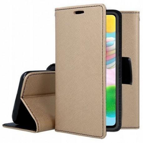 Fancy, Kaaned Samsung Galaxy A41, A415, 2020 - Kuld-Must