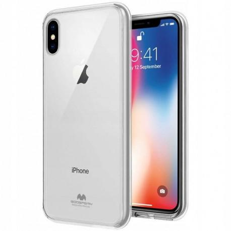 Mercury Jelly, Ümbris Apple iPhone X, iPhone XS, 2017/2018 - Läbipaistev