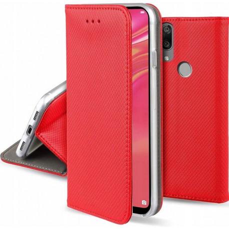 Magnet, Kaaned Huawei Y6s, Honor 8A, Y6 Prime 2019 - Punane