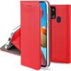 Magnet, Kaaned Samsung Galaxy A21s, A217, 2020 - Punane