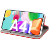 Magnet, Kaaned Samsung Galaxy A41, A415, 2020 - Punane