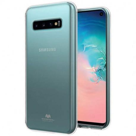 Mercury Jelly, Ümbris Samsung Galaxy S10, 6.1, G973, 2019 - Läbipaistev