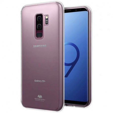Mercury Jelly, Ümbris Samsung Galaxy S9, G960, 2018 - Läbipaistev