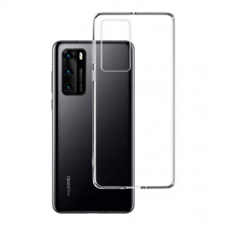 Ümbris Huawei P40, 2020 - Läbipaistev