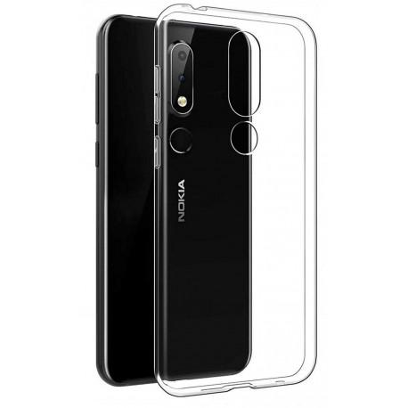 Ümbris Nokia 5.1 Plus, 2018 - Läbipaistev