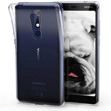 Ümbris Nokia 5.1, 2018 - Läbipaistev