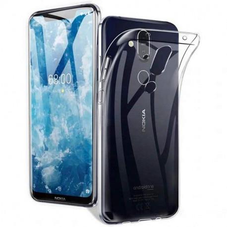 Ümbris Nokia 8.1, 2018 - Läbipaistev