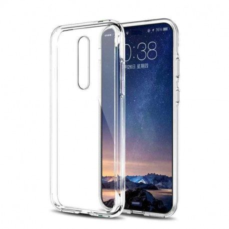 Ümbris Nokia 8.1 Plus, 2019 - Läbipaistev