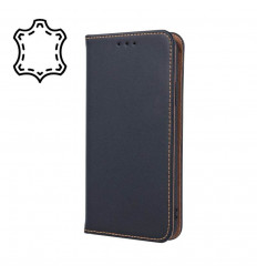 "Leather, Nahkkaaned Apple iPhone 11, 6.1"" 2019 - Must"