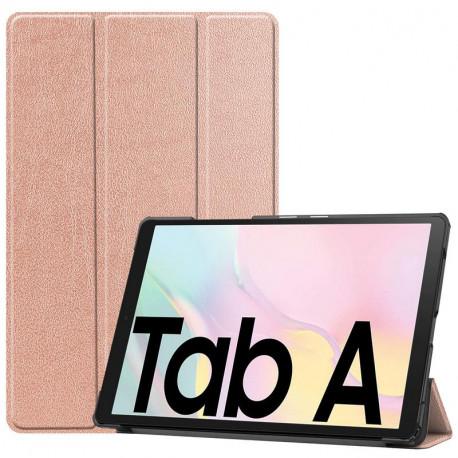 """Smart, Kaaned Samsung Galaxy Tab A7 2020, 10.4"""", T500, T505 - Roosa - Kuldne"""
