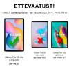 "Smart, Kaaned Samsung Galaxy Tab S6 Lite 2020, 10.4"", P610, P615 - Roosa - Kuldne"