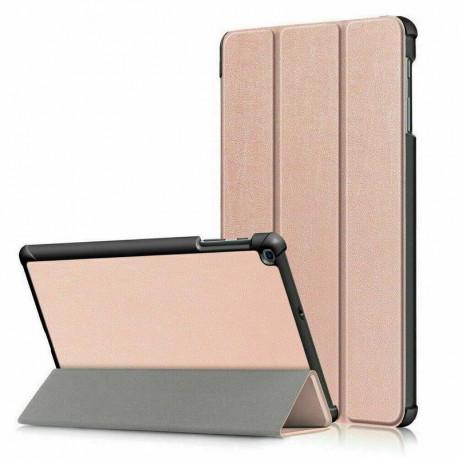 """Smart, Kaaned Samsung Galaxy Tab A 2019, 10.1"""", T510, T515 - Roosa - Kuldne"""