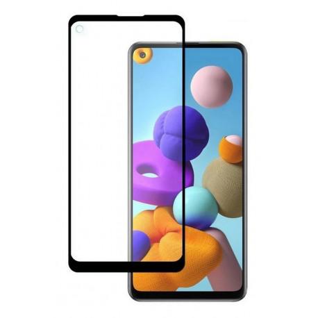 Kaitseklaas 5D, Samsung Galaxy A21 / A21s, A217, 2020 - Must