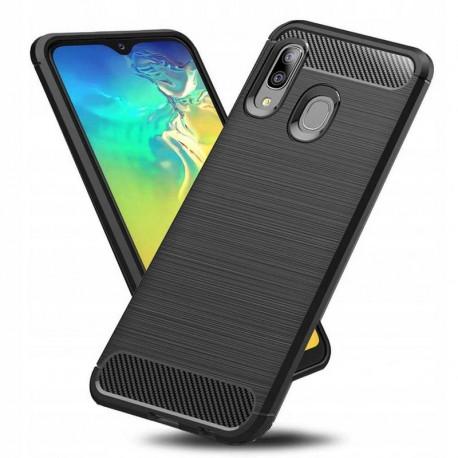 Carbon, Ümbris Samsung Galaxy A20e, A202, 2019 - Must