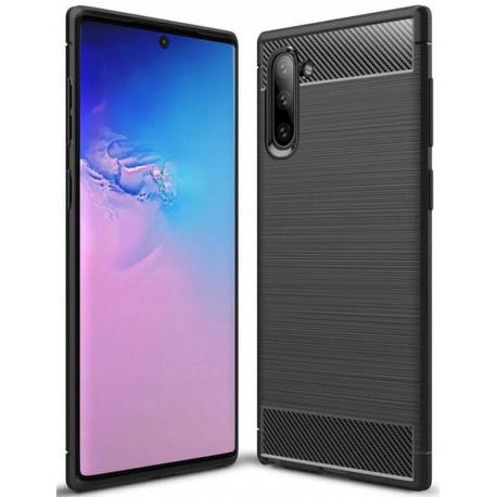 Carbon, Ümbris Samsung Galaxy Note 10, Note 10 5G, N970, N971, 2019 - Must