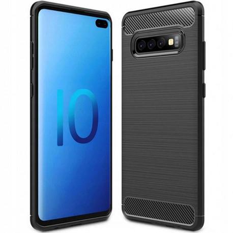 Carbon, Ümbris Samsung Galaxy S10+, S10 Plus, S10 Pro, 6.4, G975, 2019 - Must