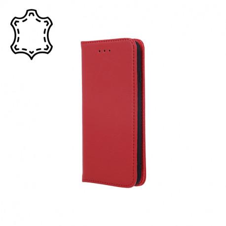 Leather, Nahkkaaned Samsung Galaxy A40, A405, 2019 - Punane