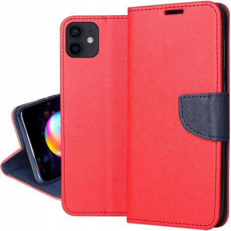 "Fancy, Kaaned Apple iPhone 12 / 12 Pro, 6.1"" 2020 - Punane"