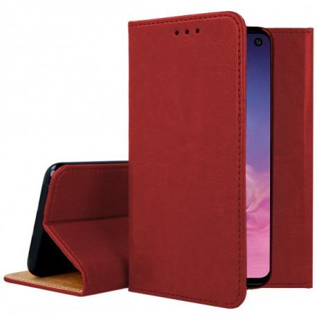 Leather, Nahkkaaned Samsung Galaxy S10e, 5.8, G970, 2019 - Punane