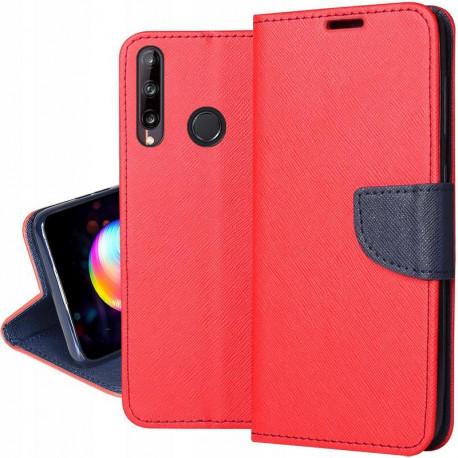 Fancy, Kaaned Huawei P40 Lite E, Huawei Y7p, 2020 - Punane