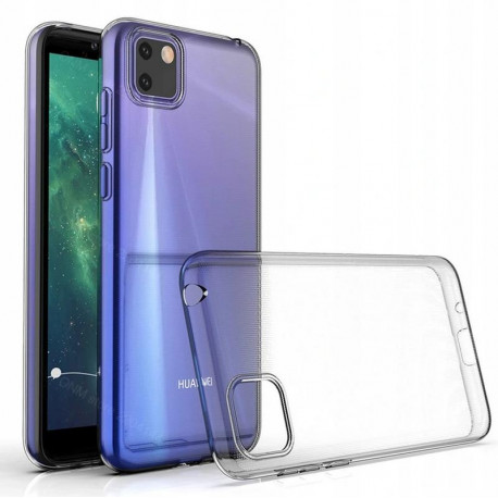 Clear, Ümbris Huawei Y5p, 2020 - Läbipaistev