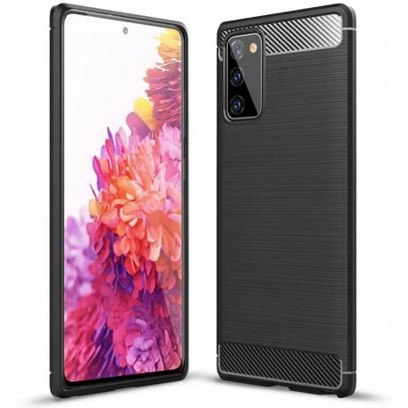 Carbon, Ümbris Samsung Galaxy S20 FE, S20 FE 5G, G780F, G781B, 2020 - Must